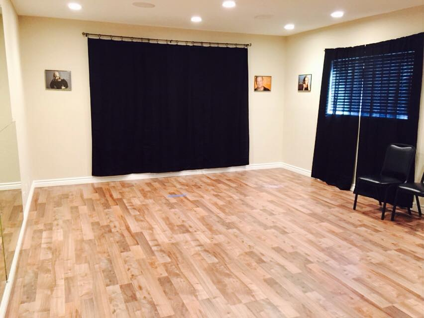 Beautiful new acting and dance room finished for How much space does a baby grand piano need